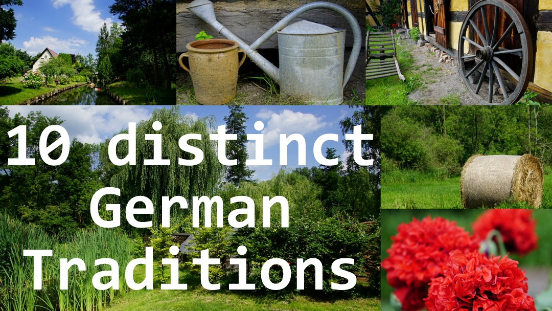 10 distinct German traditions, customs and culture