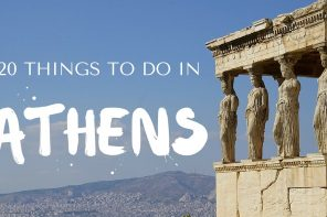 20 Things to do in Athens