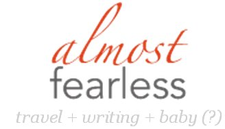 Almost Fearless has a top 100 Travel Blog