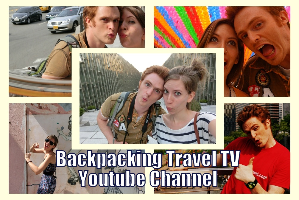 Backpacking Travel TV picture of Samuel and Audrey