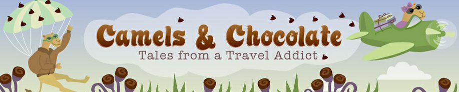 Camels and Chocolate is a top 100 travel blog