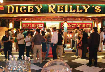 Dicey Reilly's Irish Pub in Ireland