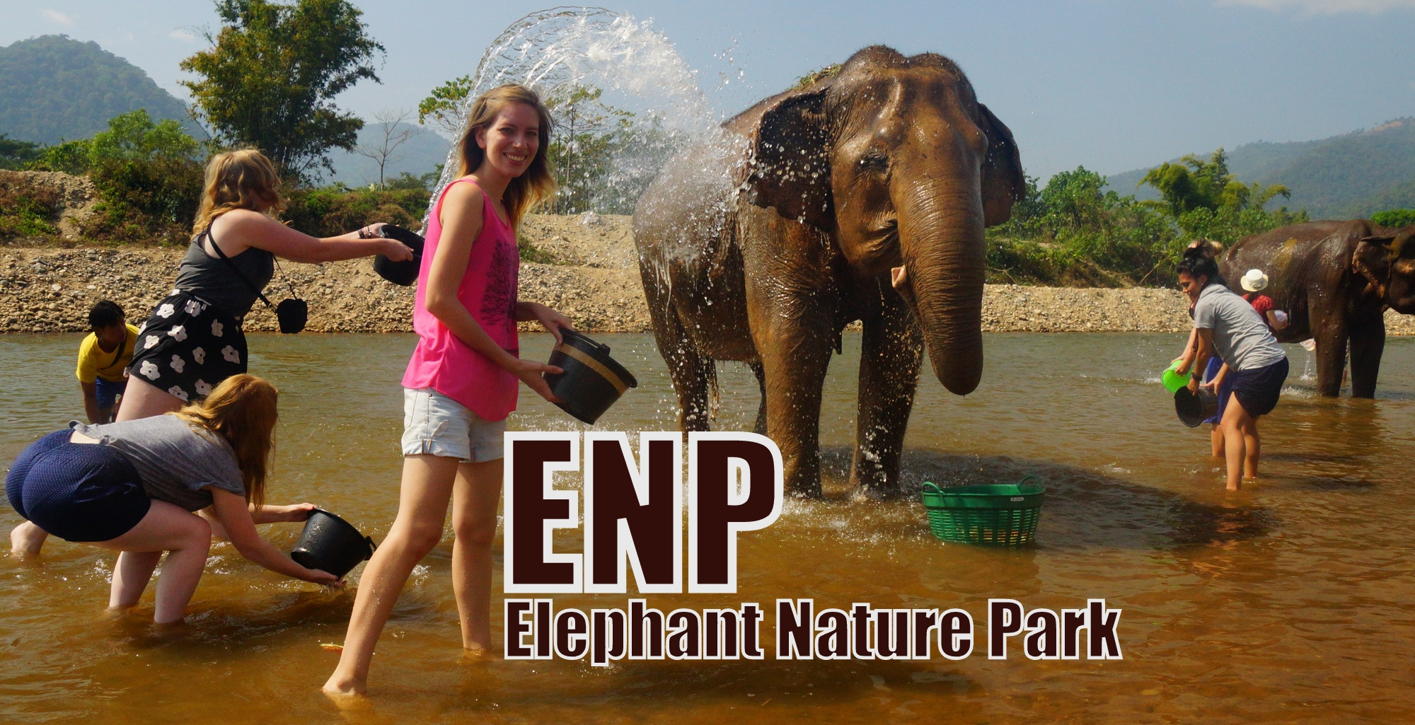 Elephant Nature Park located in Chiang Mai Province, Thailand