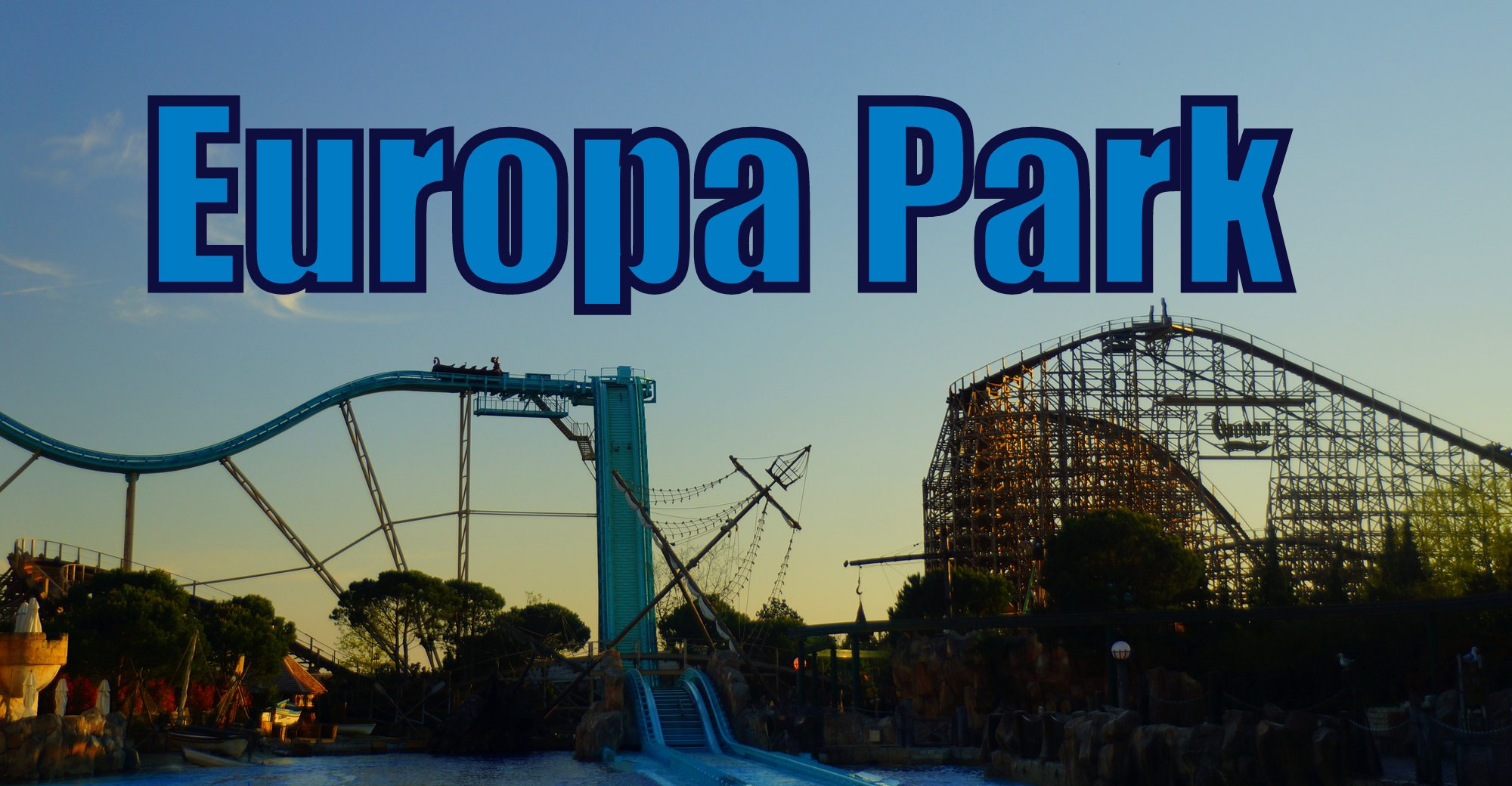 Enjoying the rides at Europa-Park in Germany