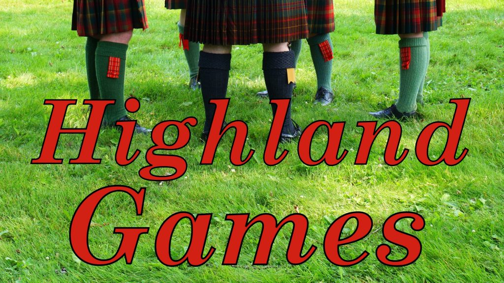 New Brunswick Highland Games in Fredericton, Canada