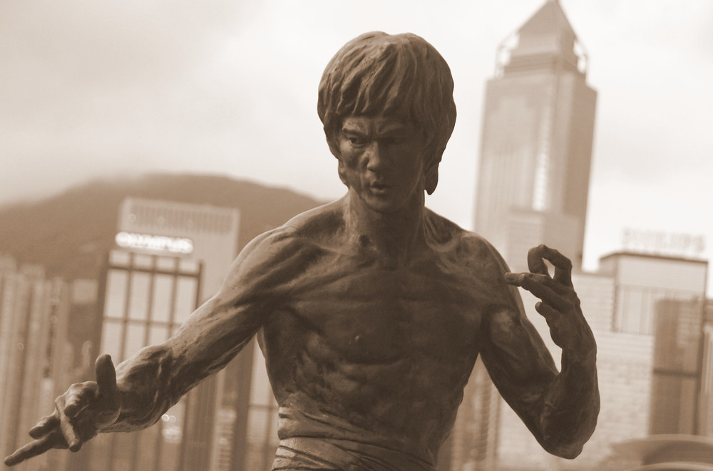 Hong Kong and Kowloon Travel Photos - Bruce Lee Statue