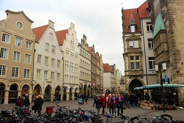 City Centre of Munster Germany