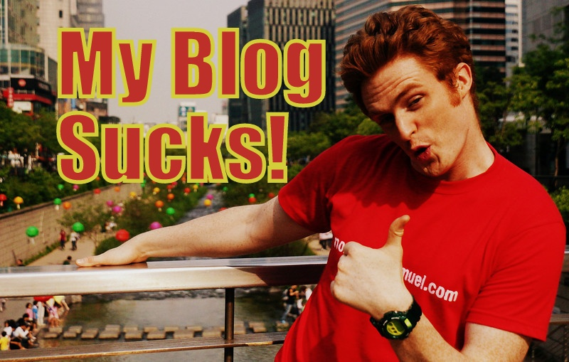 My Travel Blog Sucks!