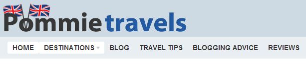 Pommie Travels has a top travel site