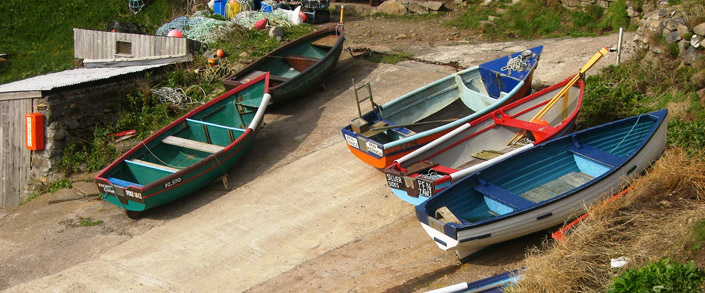 Porthledden_Priests_Cove_boats_on_slipway