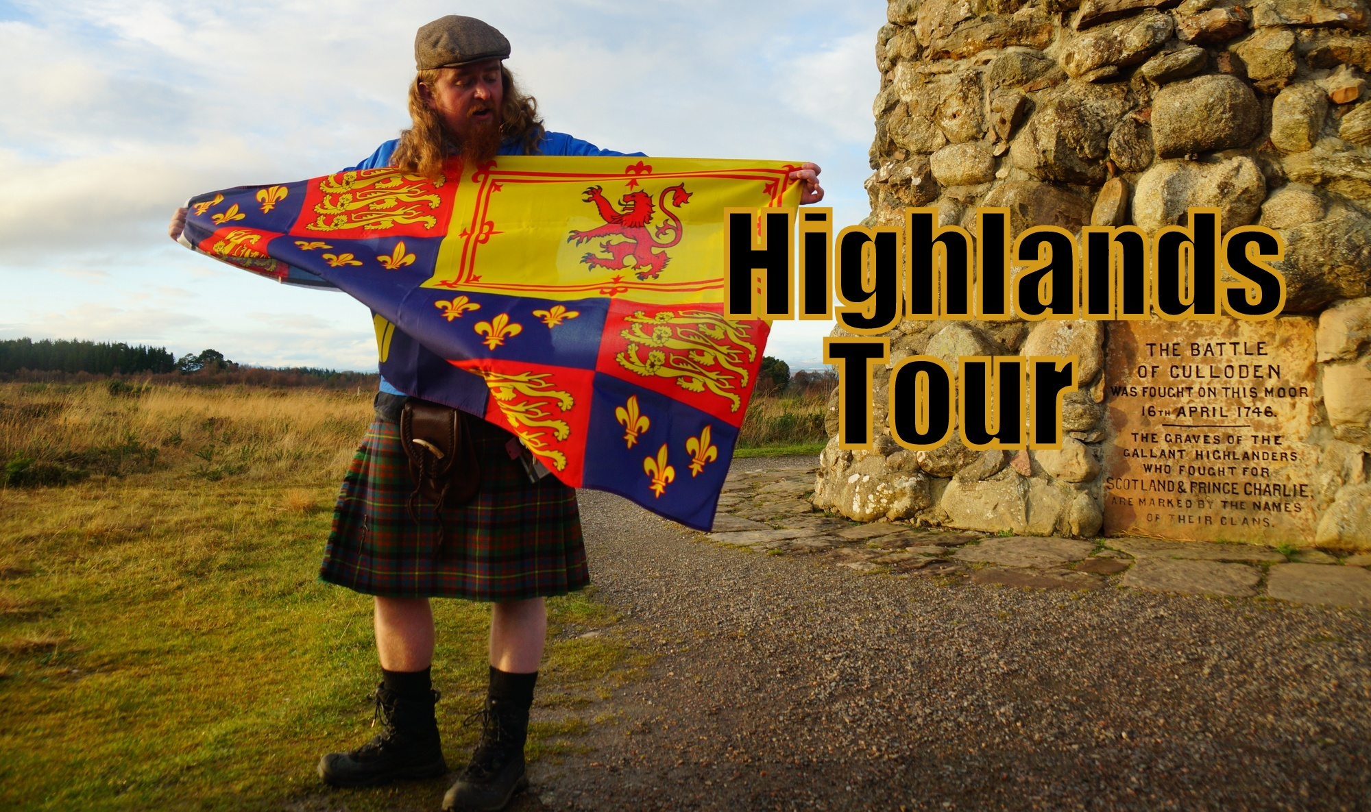 Visiting Culloden & Clava Cairns in the Scottish Highlands with Haggis Adventures Tours