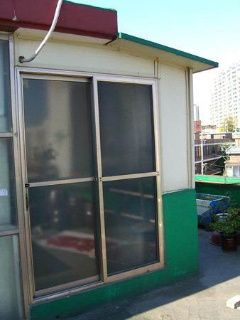 My Korean shack on top of the roof