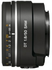 Nifty 50mm lens for Sony
