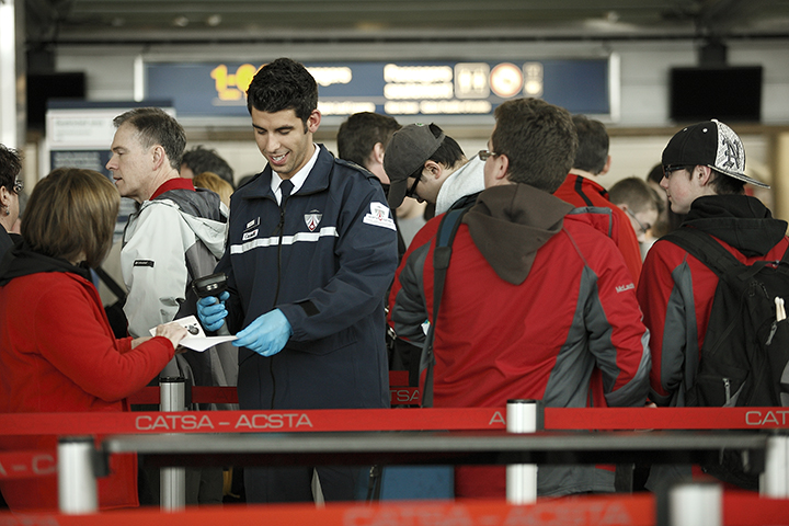 How to get through airport security faster this winter
