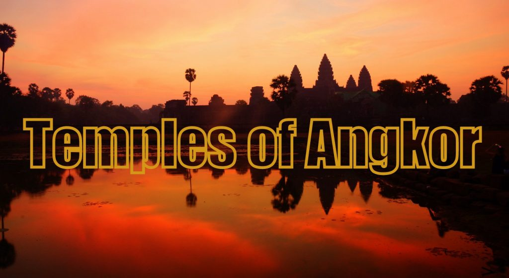 The Temples of Angkor Wat sunrise