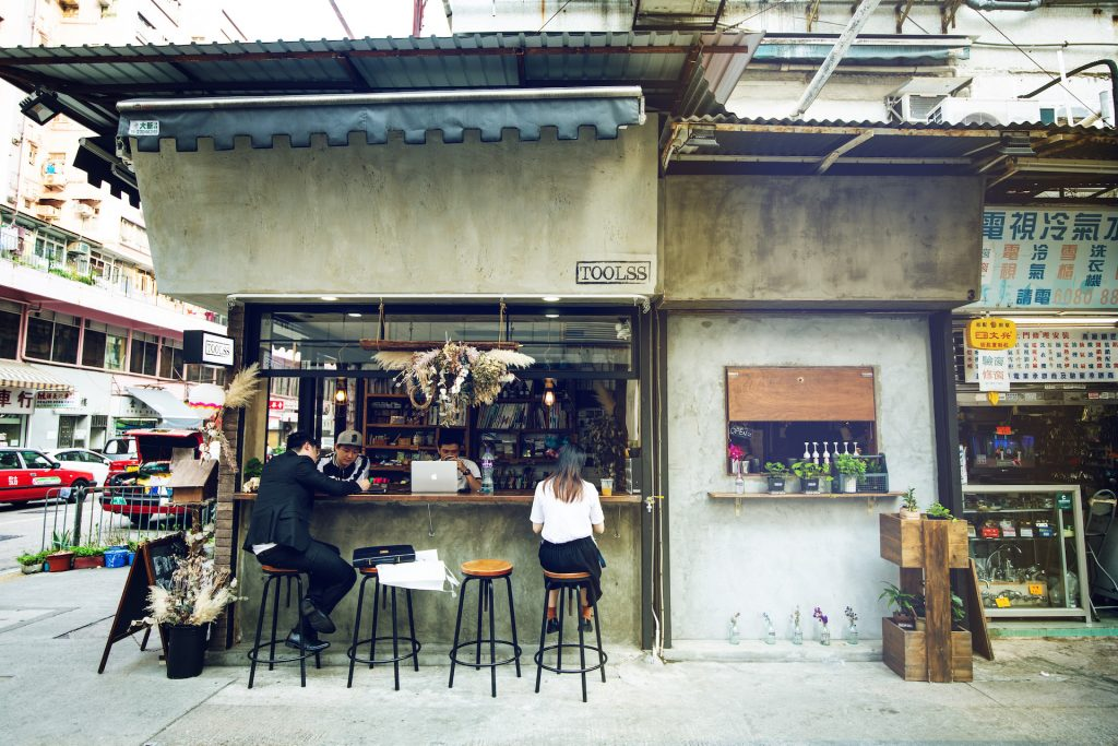 Toolss Shop and Cafe in Sham Shui Po