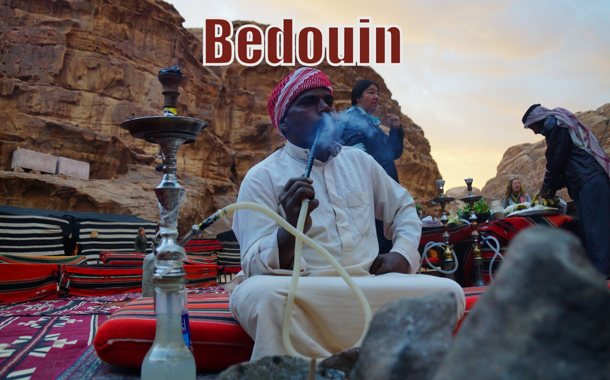 Exploring Wadi Rum, Sleeping in a Bedouin Tent and Riding a Camel in Jordan