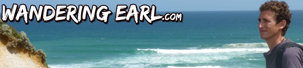 Wandering Earl has a top 100 travel site