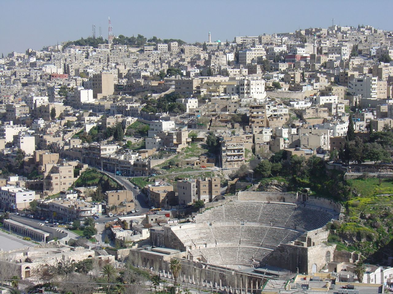 Amman view by CC user amanderson on Flickr