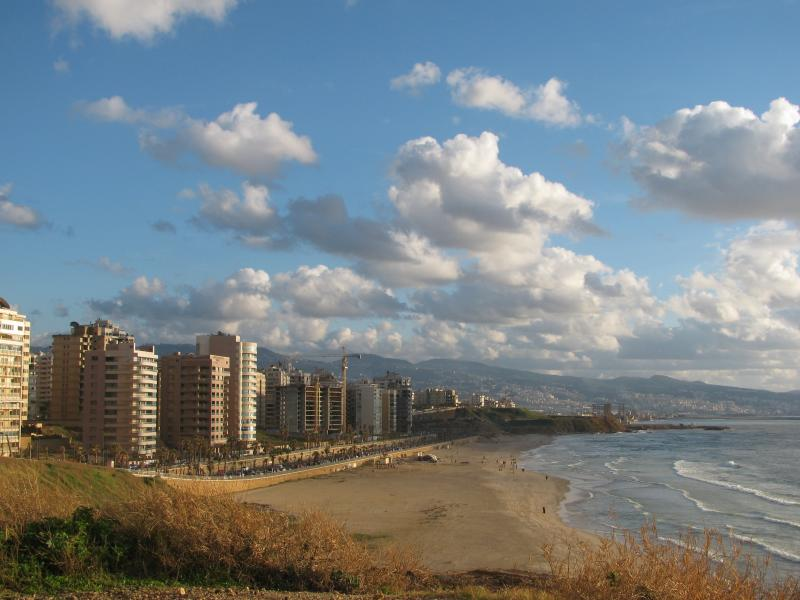 Beirut by the beach by CC user sadsnaps on Flickr