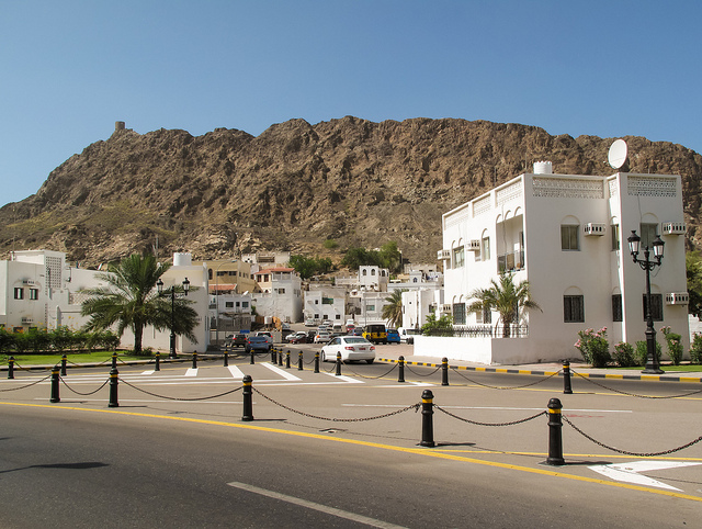Muscat downtown by CC user fran001 on Flickr