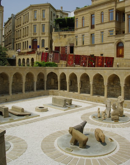 Old city of Baku by CC user apothecary on Flickr