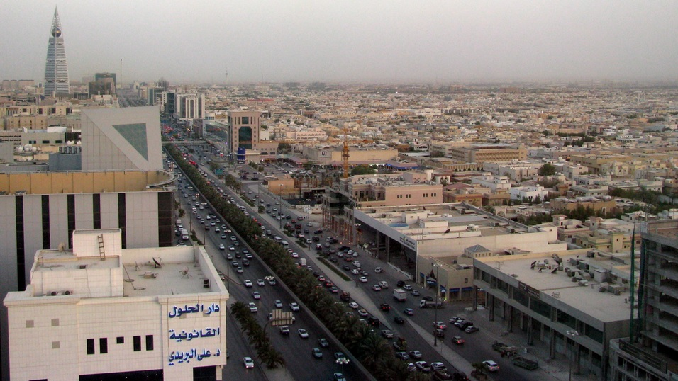 Riyadh view by CC user pedronet on Flickr