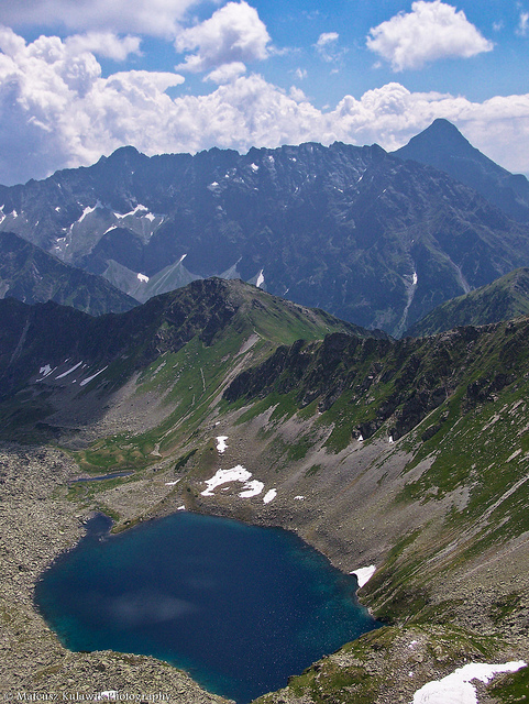 High alpine lake in the High Tatras by CC user mateusz-kulawik on Flickr
