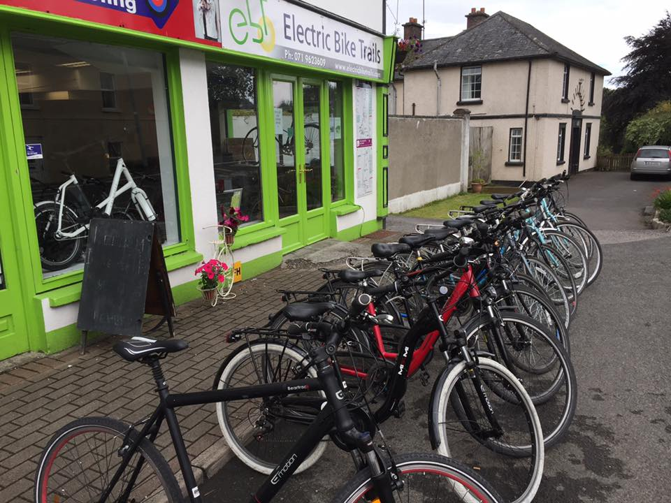 Biking can be a great way to explore the countryside in Ireland.