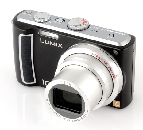 Super zoom compact camera long optical zoom Panasonic Lumix TZ5