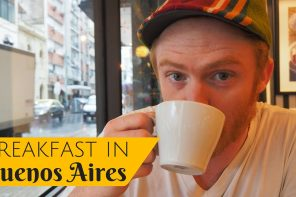 VIDEO: Argentine Breakfast in Buenos Aires, Argentina