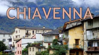 VIDEO: Chiavenna City Tour + Visiting Switzerland #blogville