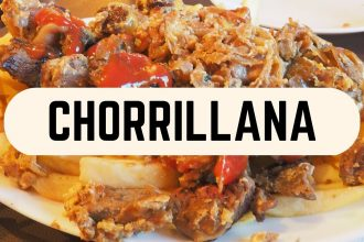 VIDEO: Chorrillana – Chilean Snack in Santiago, Chile