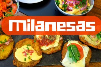 VIDEO: Eating Milanesa in Buenos Aires
