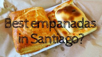 VIDEO: The best Empanadas in Santiago?