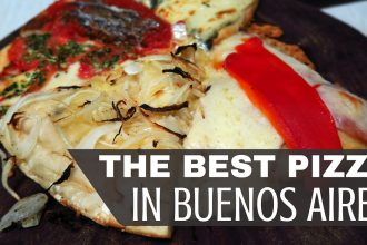 VIDEO: The Best Pizza in Buenos Aires!