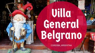 VIDEO: Visiting Villa General Belgrano in Córdoba, Argentina